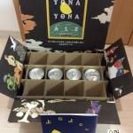 エールビール4種類飲み比べ 開けたダンボール箱