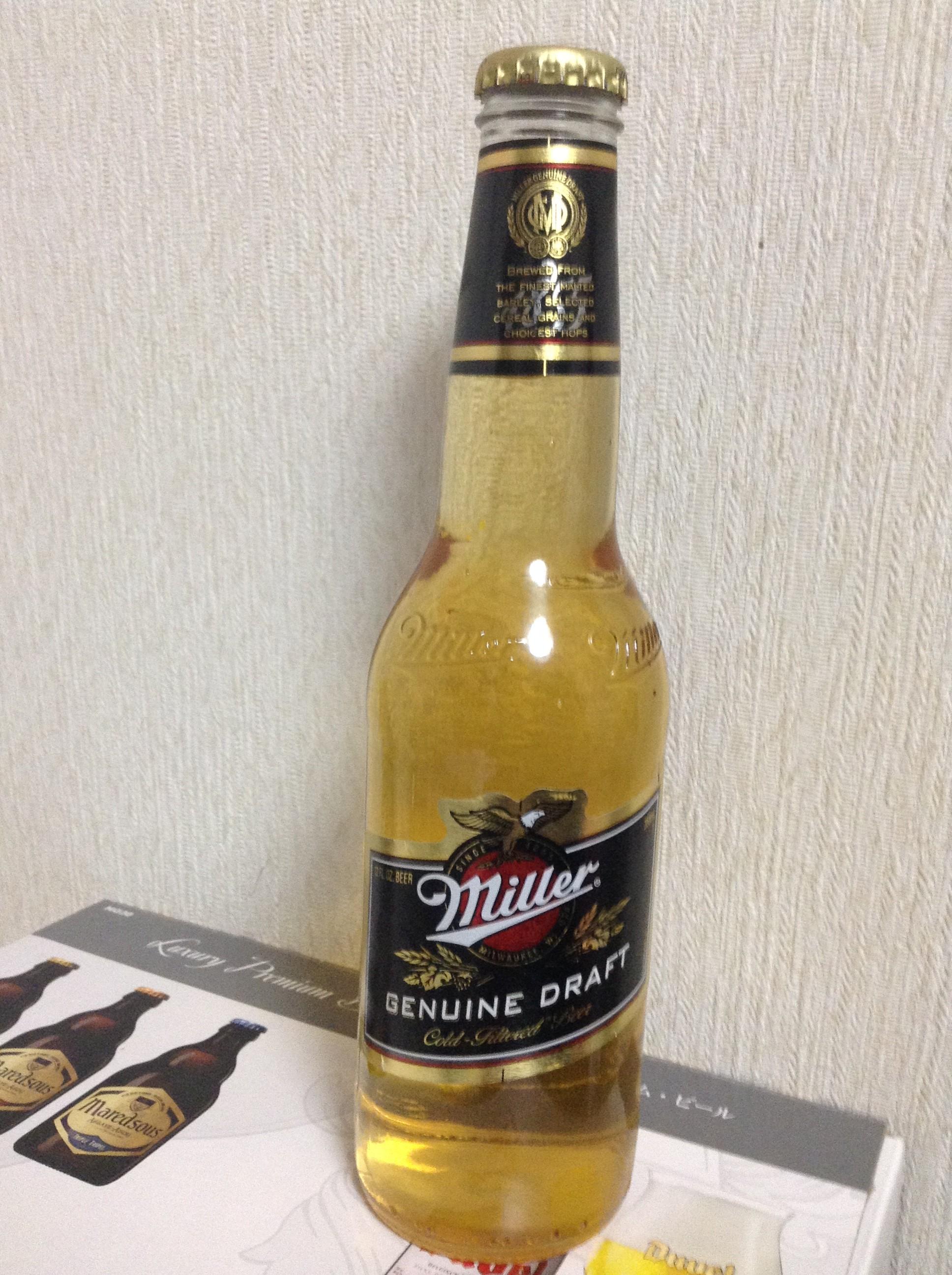 瓶のミラー・ドラフト