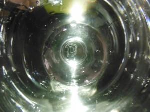 デュベル専用グラスの底