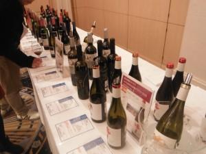 ズラッと並んでいるスペイン・ワイン
