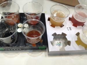 大江戸ビール祭り 飲み比べ