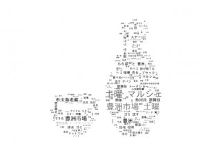 豊洲市場 Oishii 土曜マルシェ